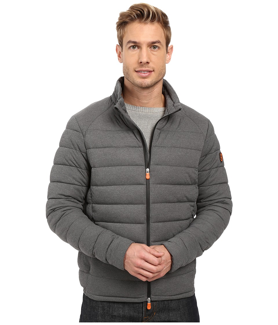 Save the Duck - Puffer Stretch Jacket (Opal Grey Melange) Men's Coat