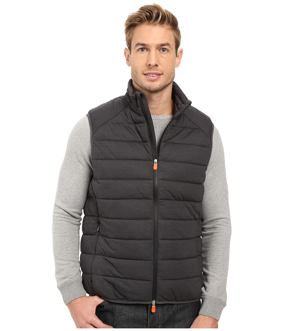 Save the Duck - Stretch Puffer Vest (Charcoal) Men's Vest