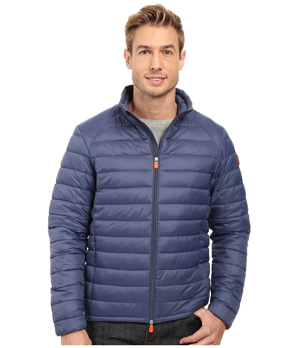 Save the Duck - Lightweight Puffer Jacket (Eclipse Blue) Men's Coat