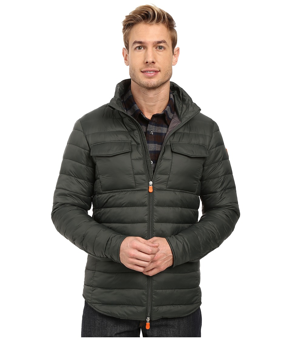 Save the Duck - Versatile Jacket (Dark Green) Men's Coat
