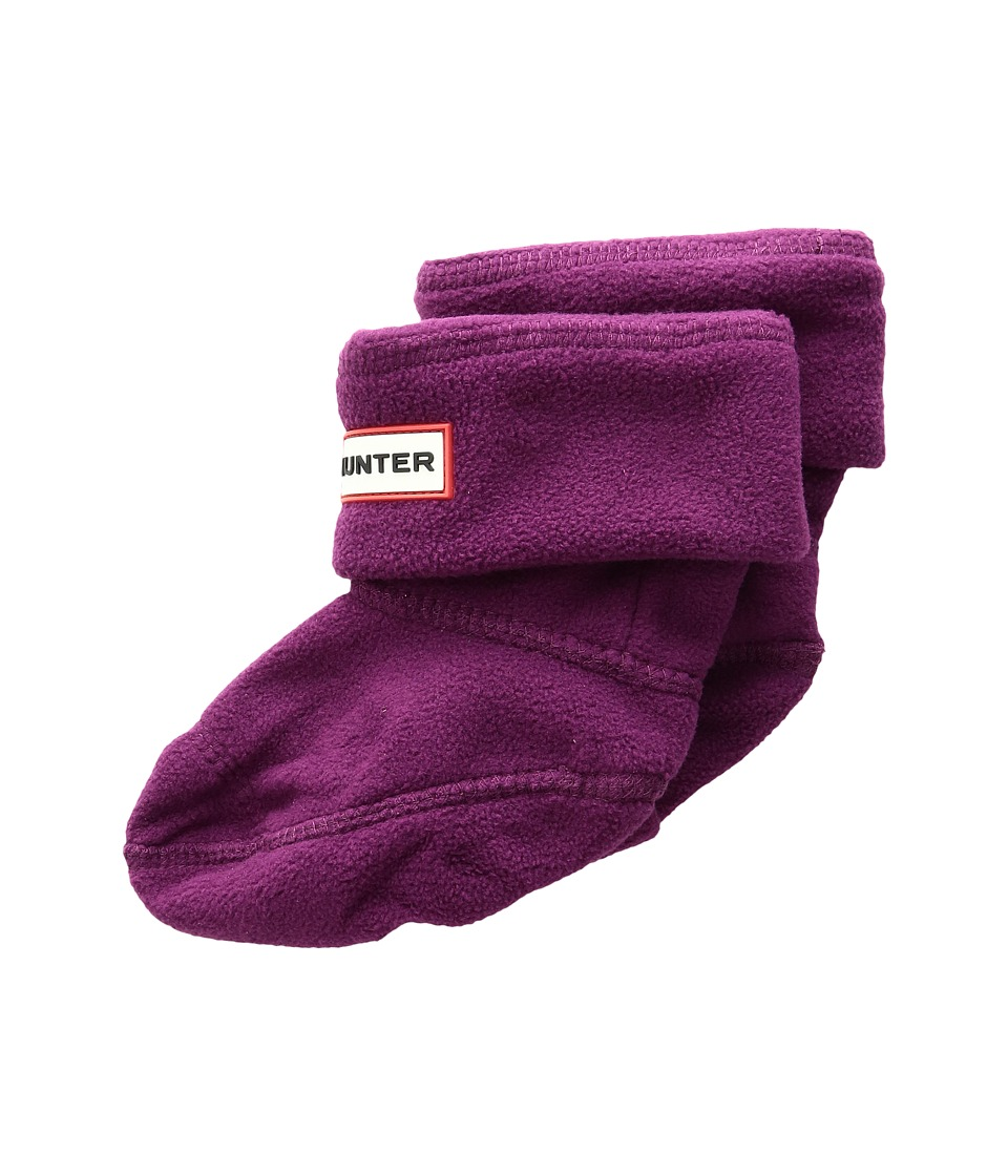 Hunter Kids - Welly Boot Socks (Toddler/Little Kid/Big Kid) (Bright Violet) Girls Shoes