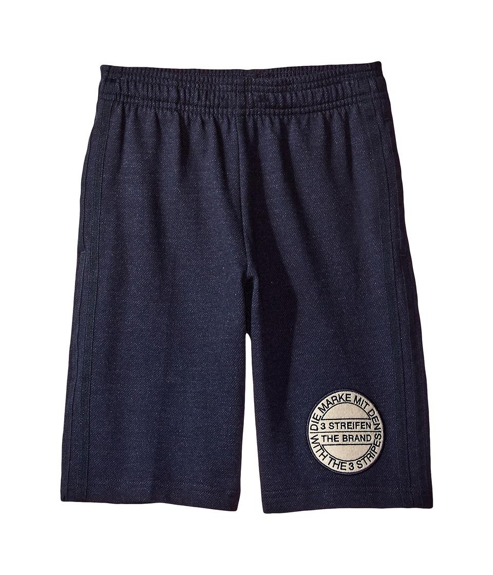 adidas Originals Kids - Tko Shorts (Toddler/Little Kids/Big Kids) (Legend Ink/Clear Brown) Boy's Shorts