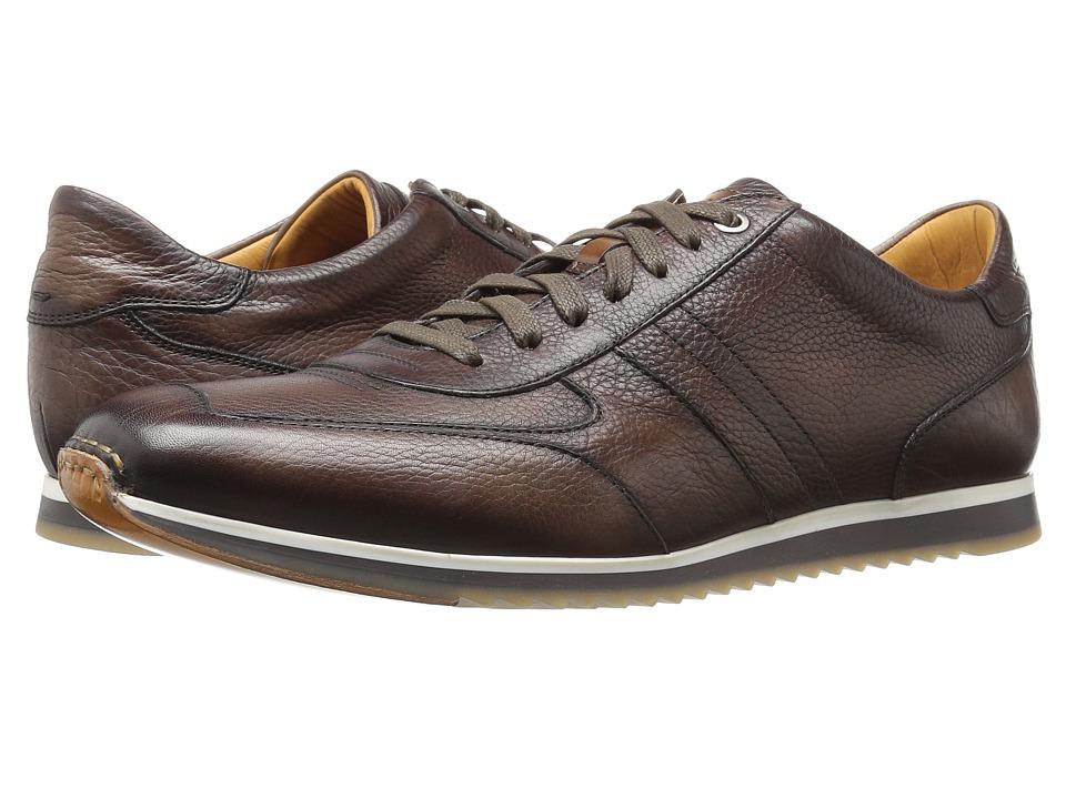 Magnanni - Rico (Brown) Men's Slip on Shoes