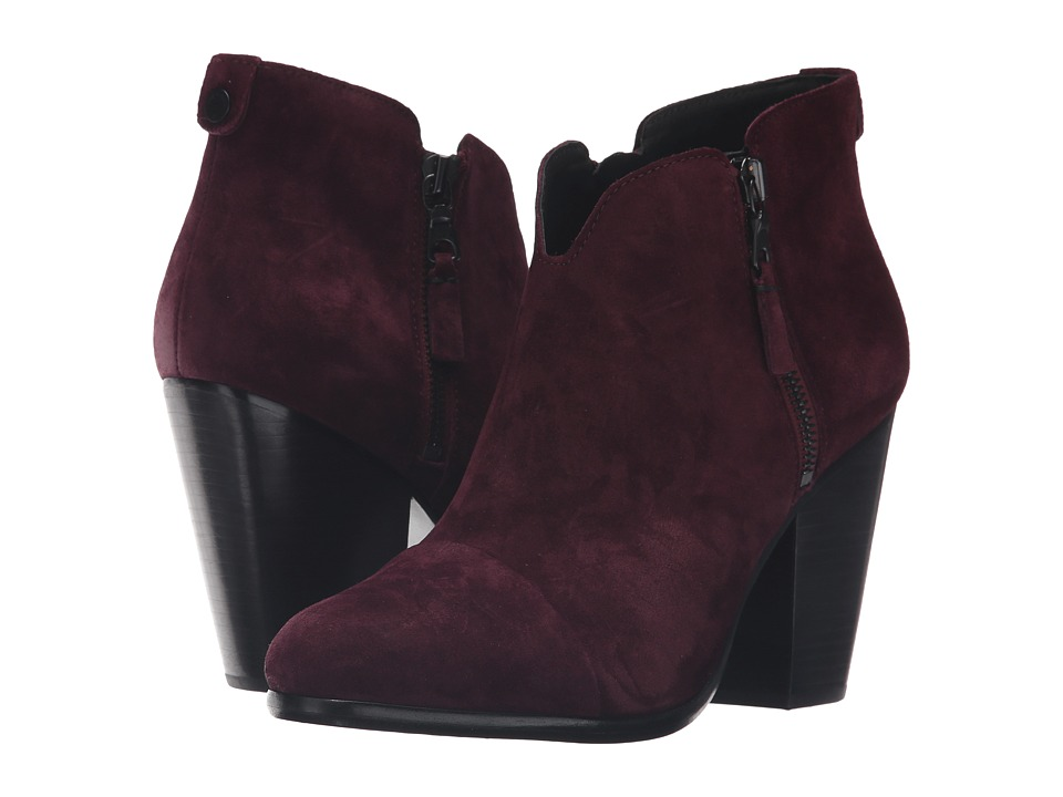 rag & bone - Margot Boot (Burgundy Suede) Women's Boots