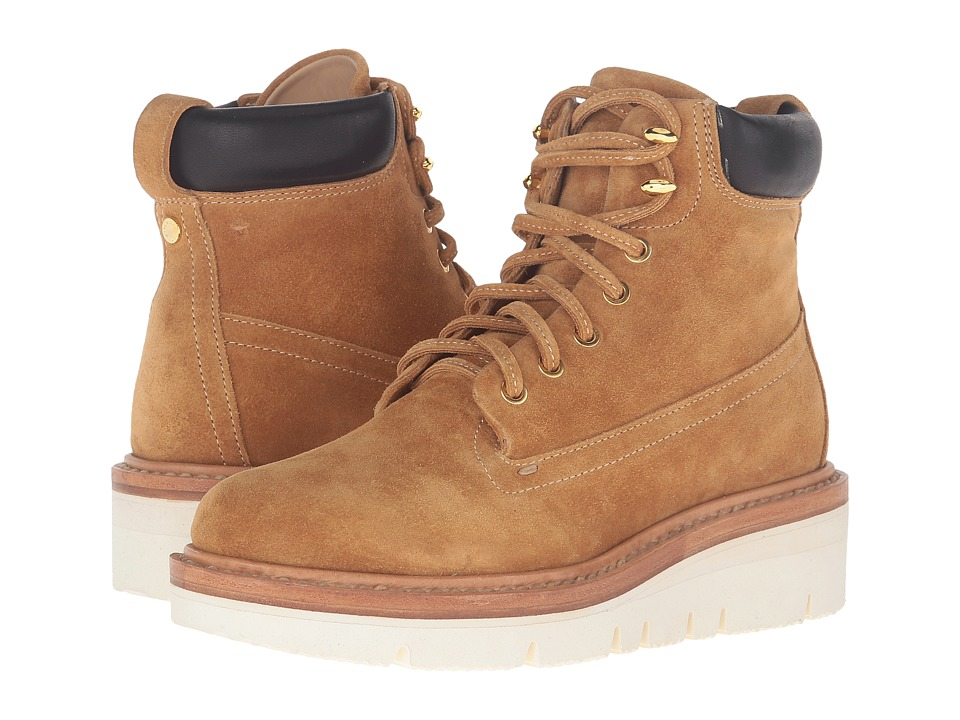 rag & bone - Camden Boots (Ochre Suede) Women's Boots