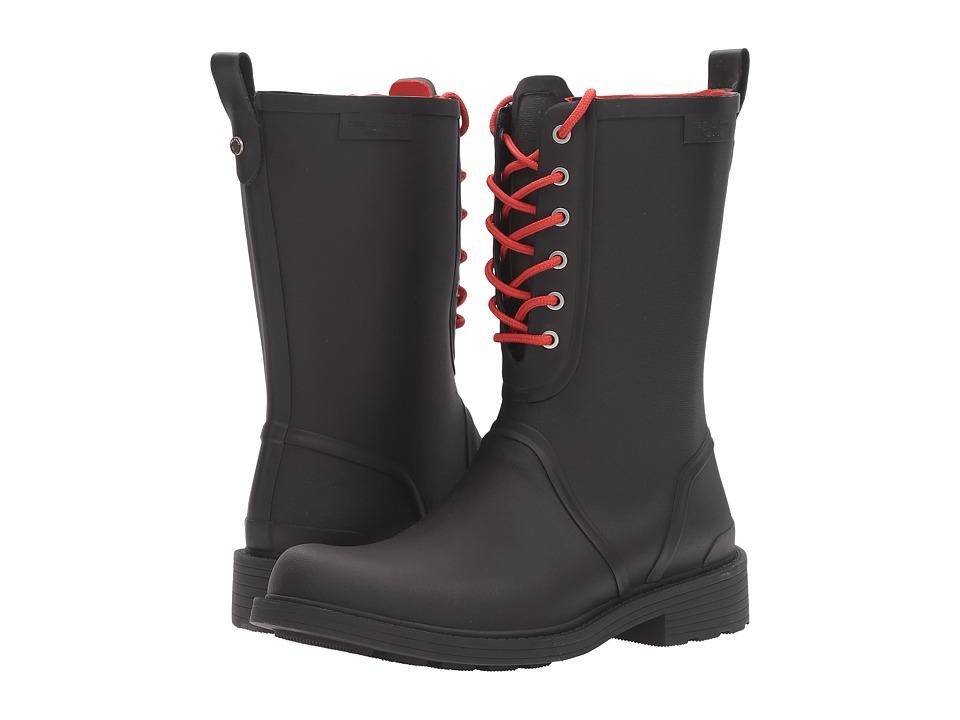 rag & bone - Ansel Rain Boots (Black) Women's Boots
