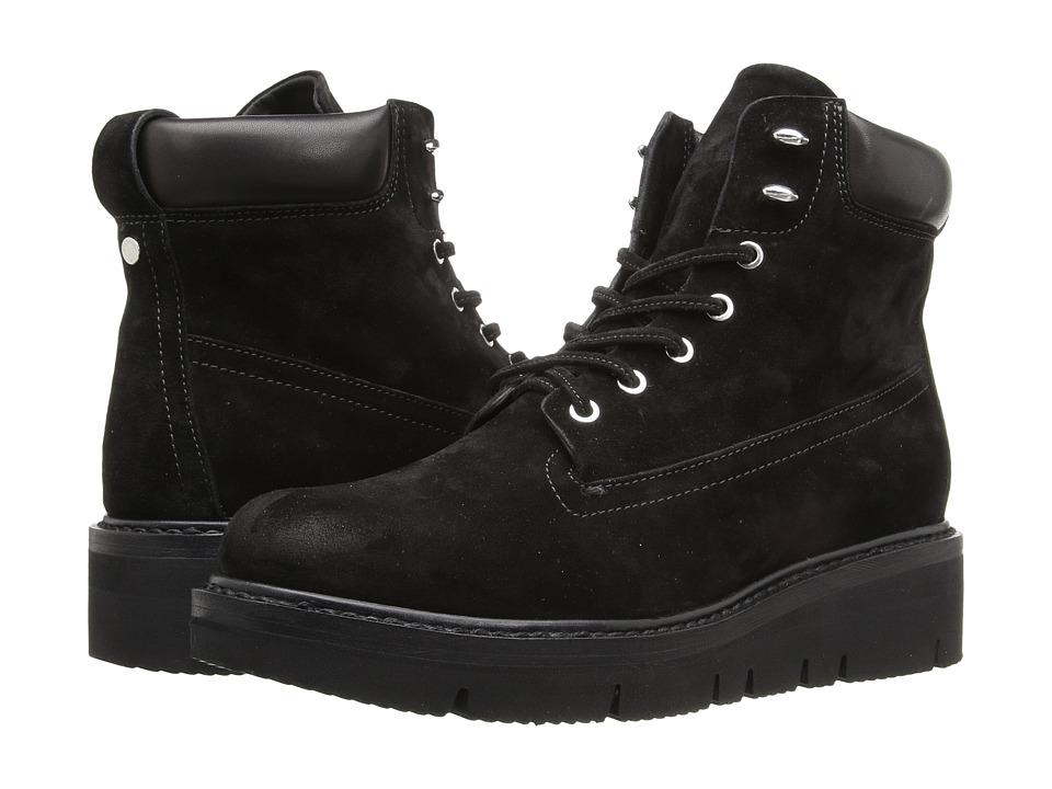 rag & bone - Camden Boots (Black Suede) Women's Boots