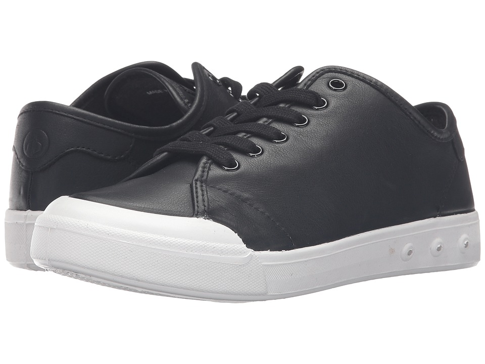 rag & bone - Standard Issue Lace-Up (Black Leather) Women's Shoes