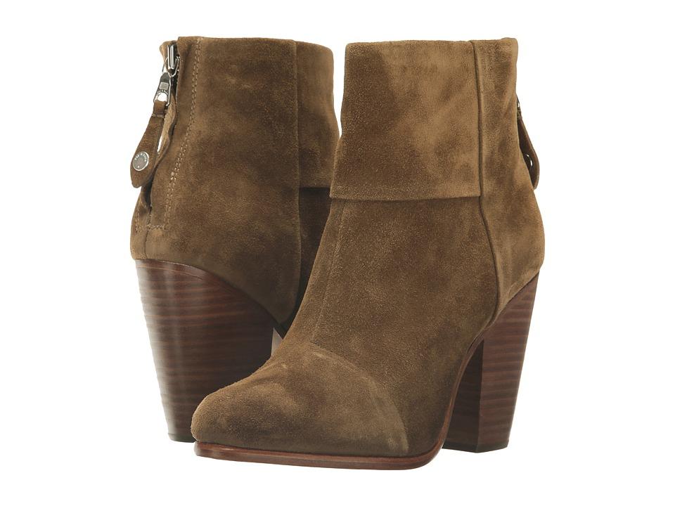 rag & bone - Classic Newbury (Mineral Suede) Women's Shoes