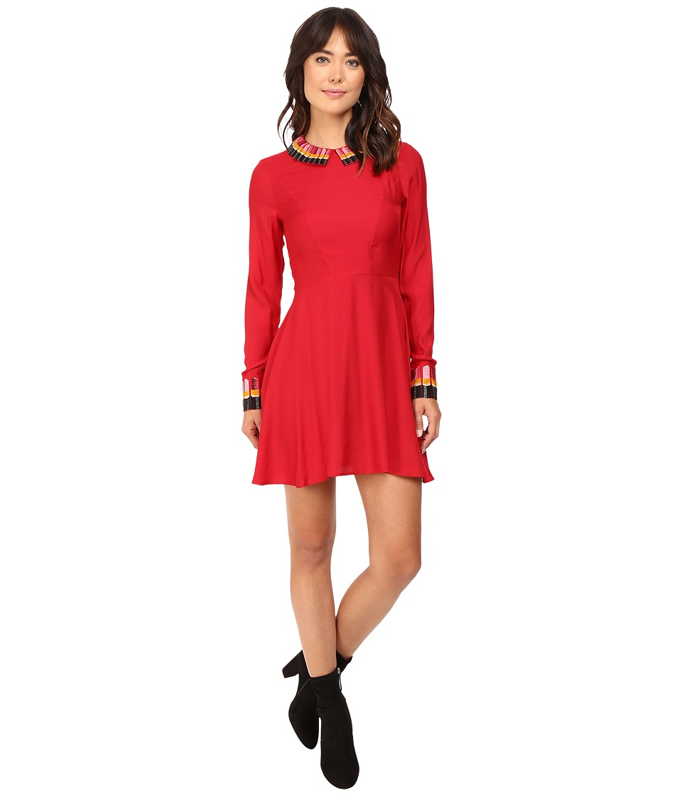 Rachel Antonoff - Jessica Fit and Flare Dress (Poppy) Women's Dress