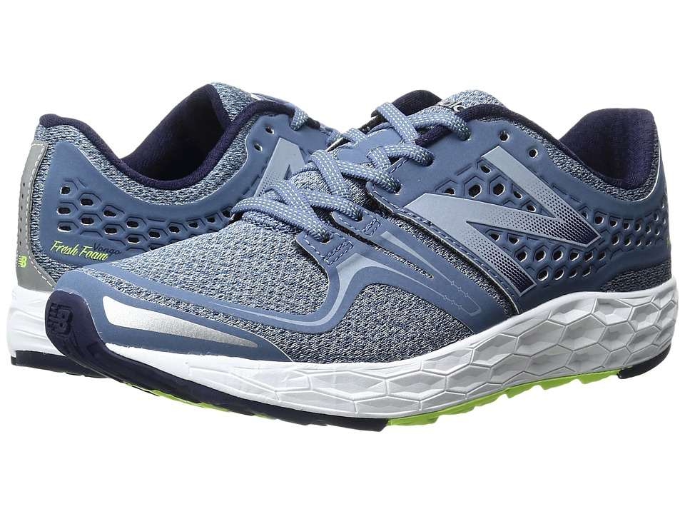 New Balance - Fresh Foam Vongo (Dark Porcelain Blue/Lime Glo) Women's Running Shoes