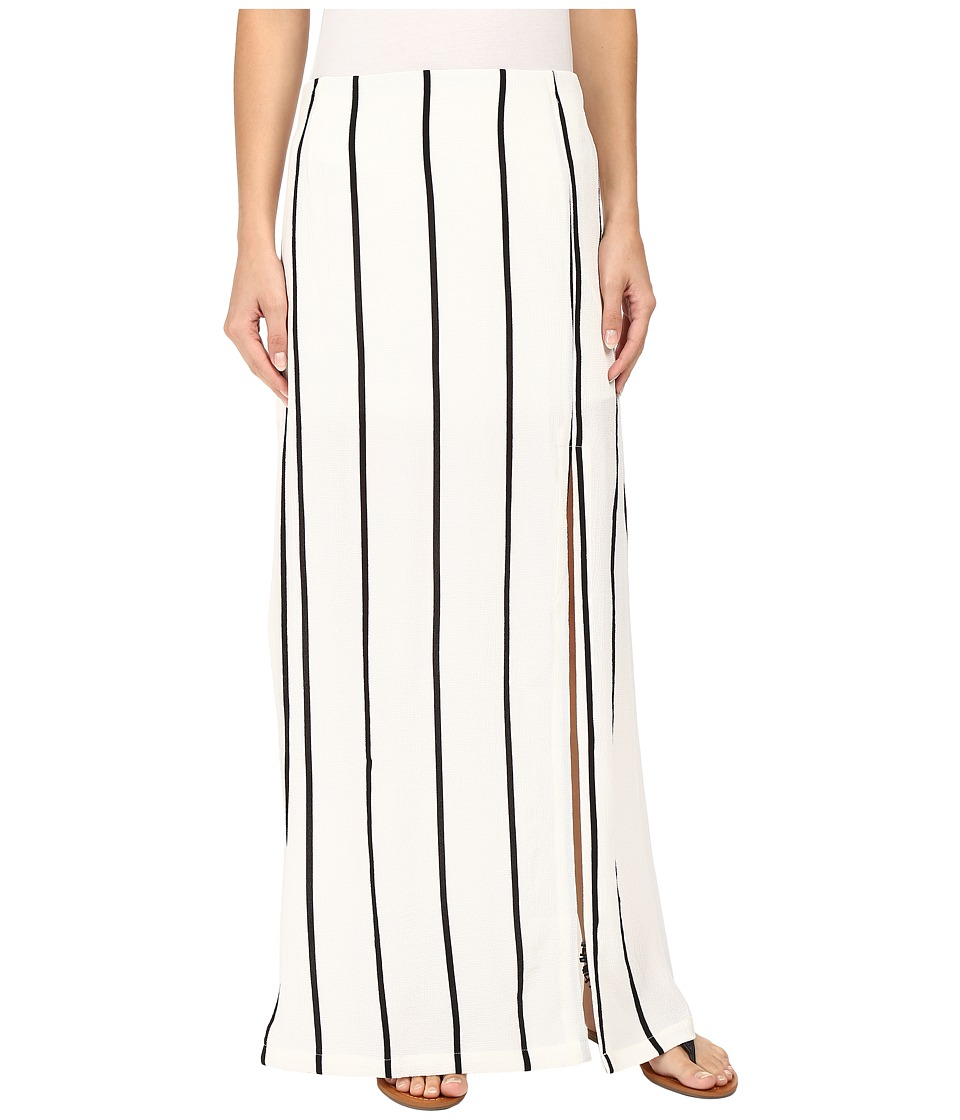 Union of Angels - Ebony Maxi Skirt (Black/White) Women's Skirt