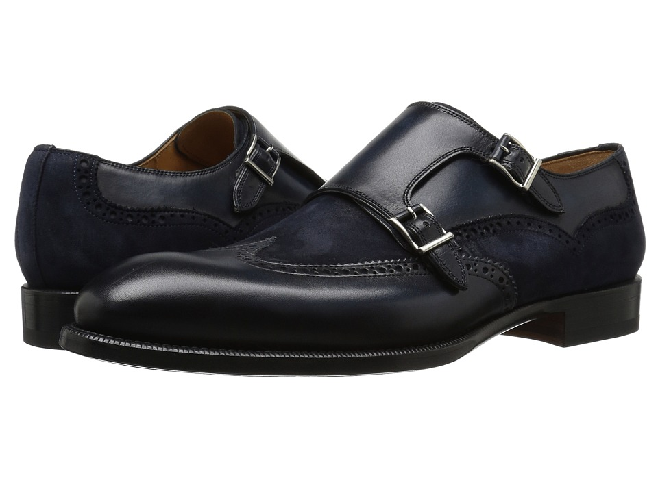 Magnanni - Leve (Navy) Men's Shoes