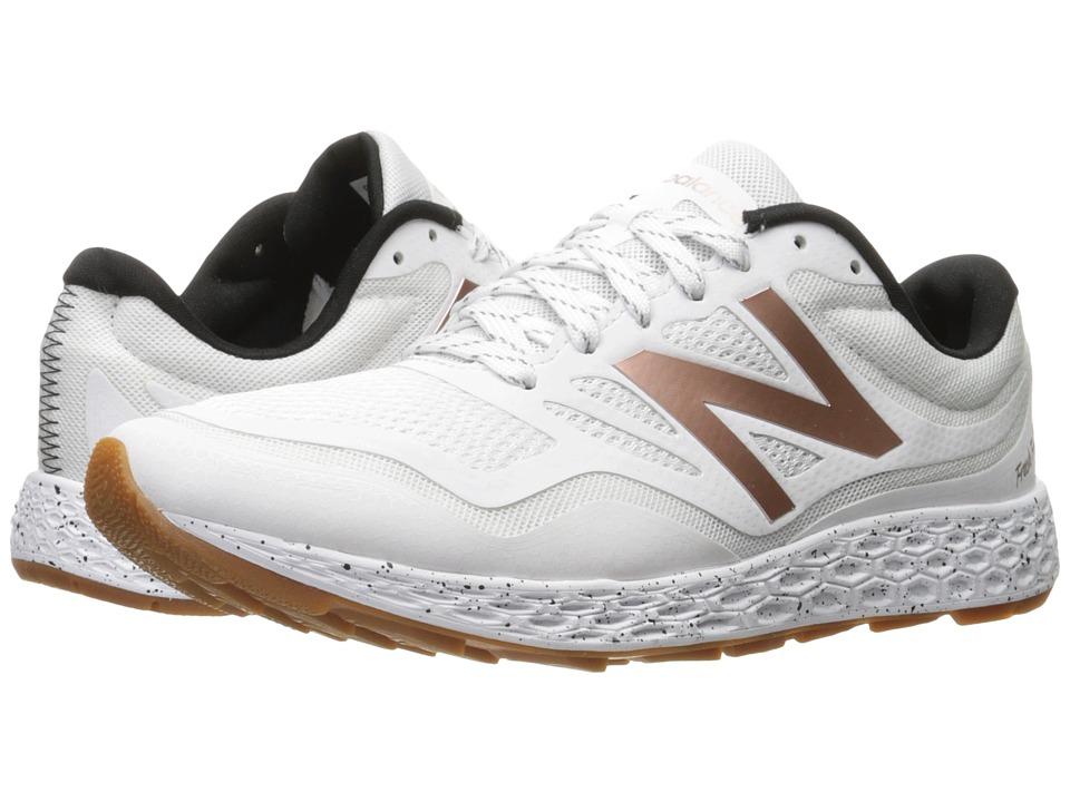 New Balance - Fresh Foam Gobi (White/Rose Gold) Women's Running Shoes