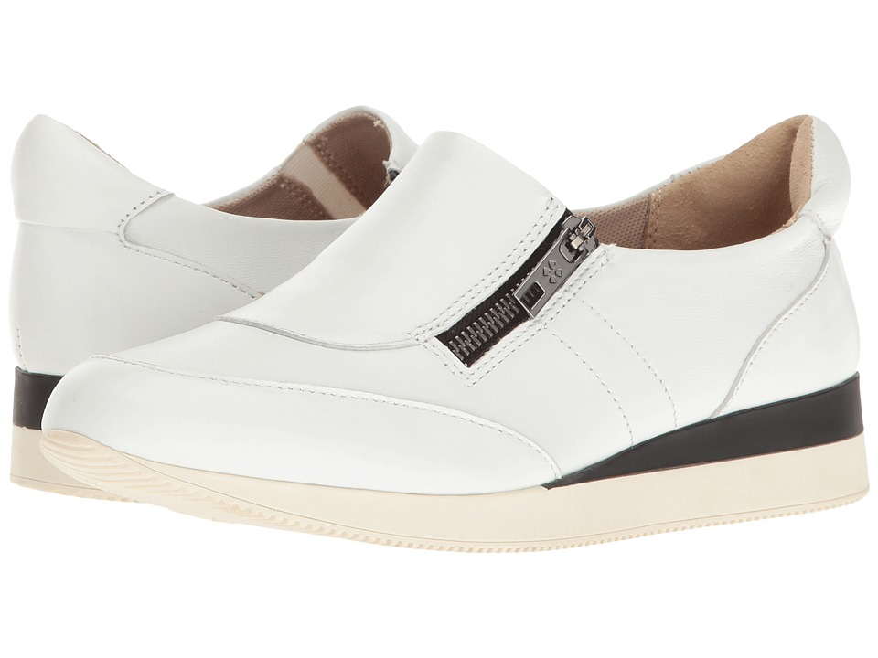 Naturalizer - Jetty (White Leather) Women's Shoes