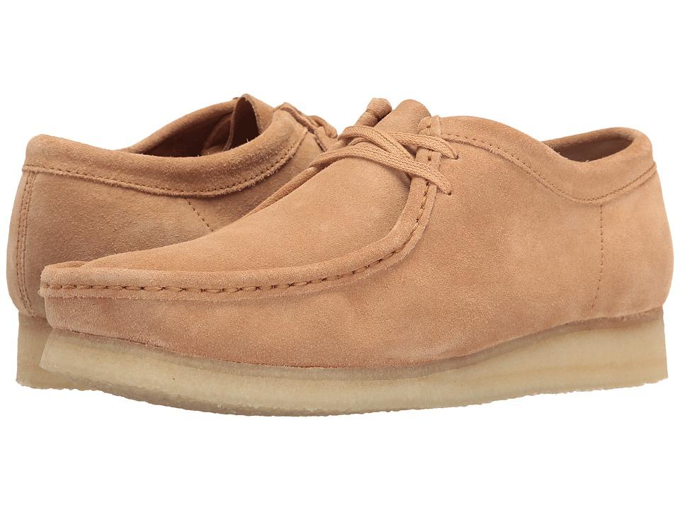 Clarks - Wallabee (Fudge Suede) Men's Lace up casual Shoes