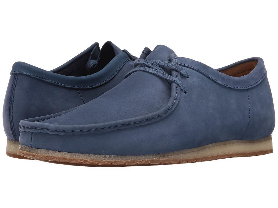 Clarks - Wallabee Step (Night Blue Nubuck) Men's Shoes