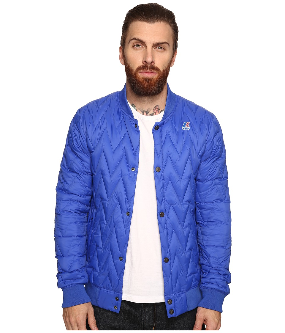K-WAY - Louis Light Thermo Jacket (Royal Blue) Men's Coat