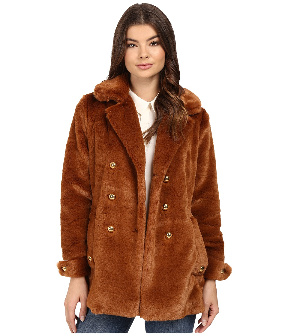 Samantha Pleet - Bear Coat (Chestnut) Women's Coat