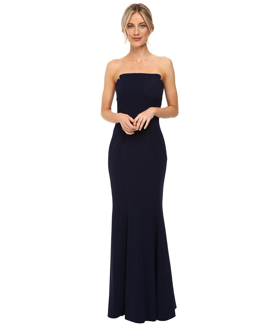 JILL JILL STUART - Harlow Strapless Hourglass Gown (Ink) Women's Dress