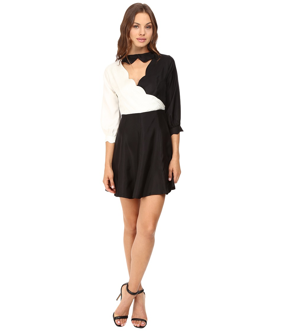 Samantha Pleet - Cloud Dress (Black/White) Women's Dress
