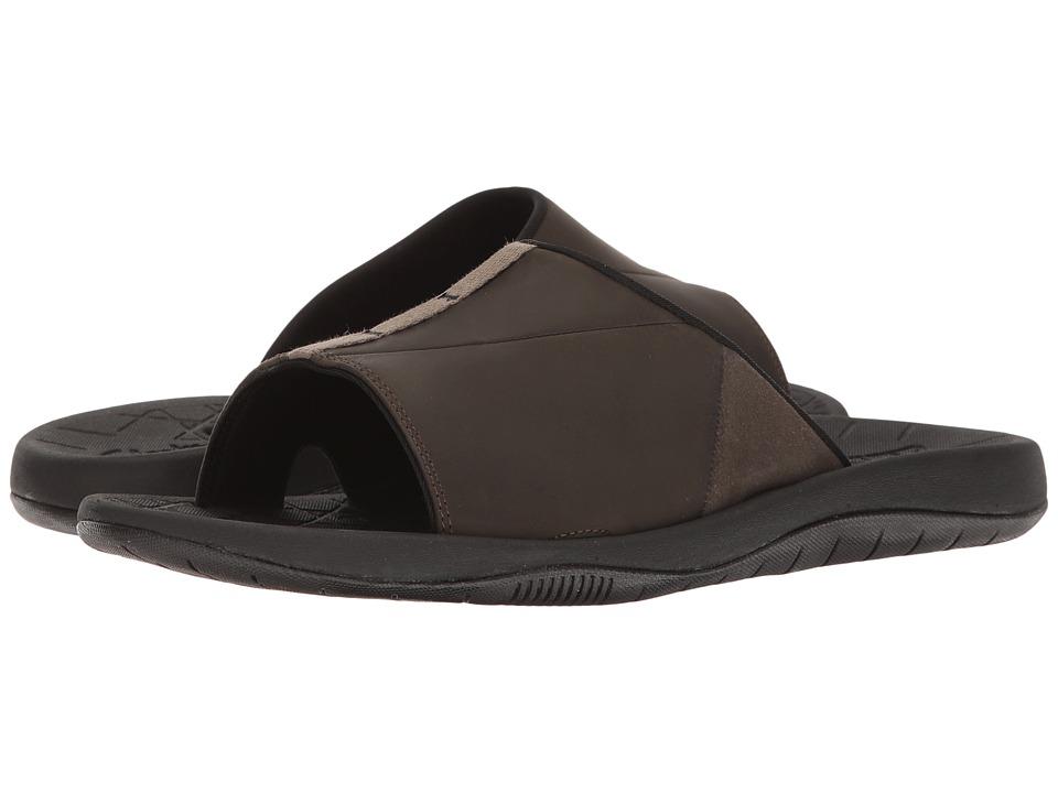 Clarks - Bosun Tide (Khaki Nubuck) Men's Shoes