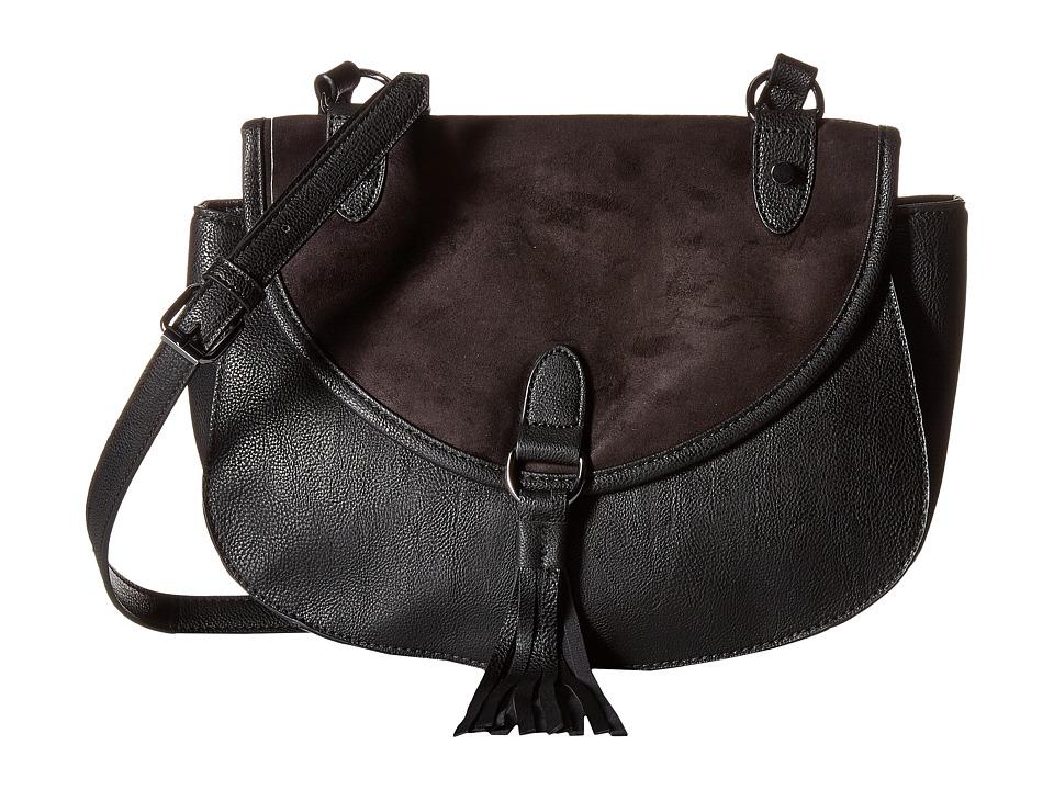 Madden Girl - Mgtassel Crossbody (Black) Cross Body Handbags
