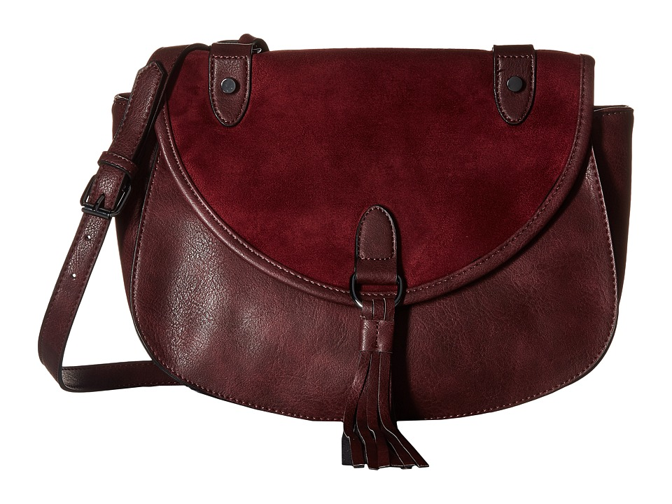 Madden Girl - Mgtassel Crossbody (Burgundy) Cross Body Handbags