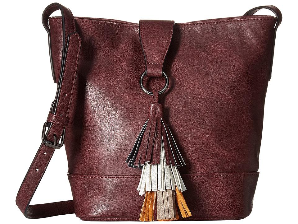 Madden Girl - Mgbuckie Crossbody (Burgundy) Cross Body Handbags