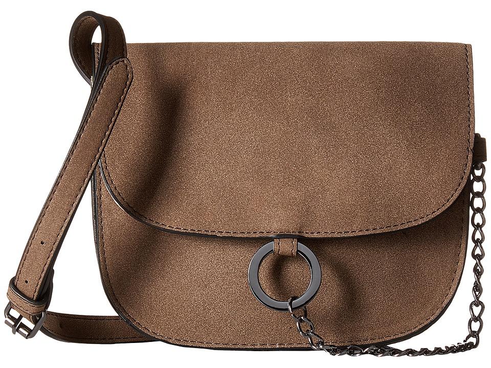 Madden Girl - Mgsofty Crossbody (Smoke) Cross Body Handbags
