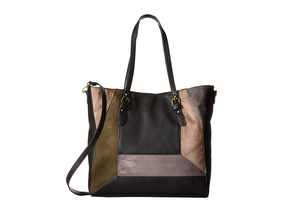 Madden Girl - Mgchic Tote (Black Multi) Tote Handbags