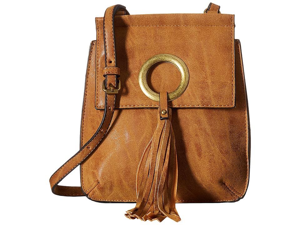 Madden Girl - Mgsaint Crossbody (Cognac) Cross Body Handbags