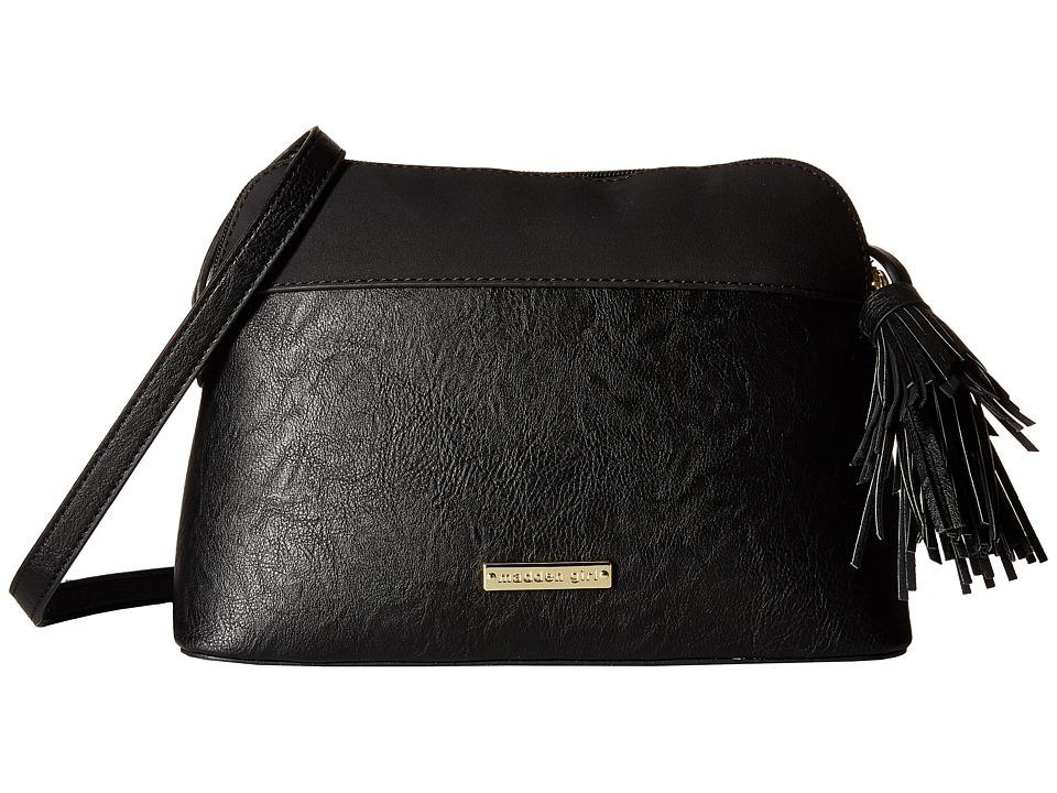 Madden Girl - Mgcrown Crossbody (Black) Cross Body Handbags