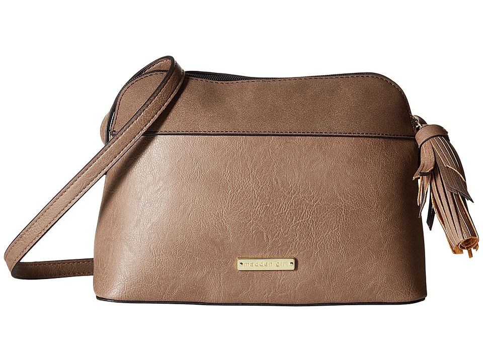 Madden Girl - Mgcrown Crossbody (Smoke) Cross Body Handbags
