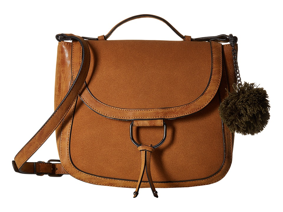 Madden Girl - Mgmod Saddle Bag (Cognac) Bags