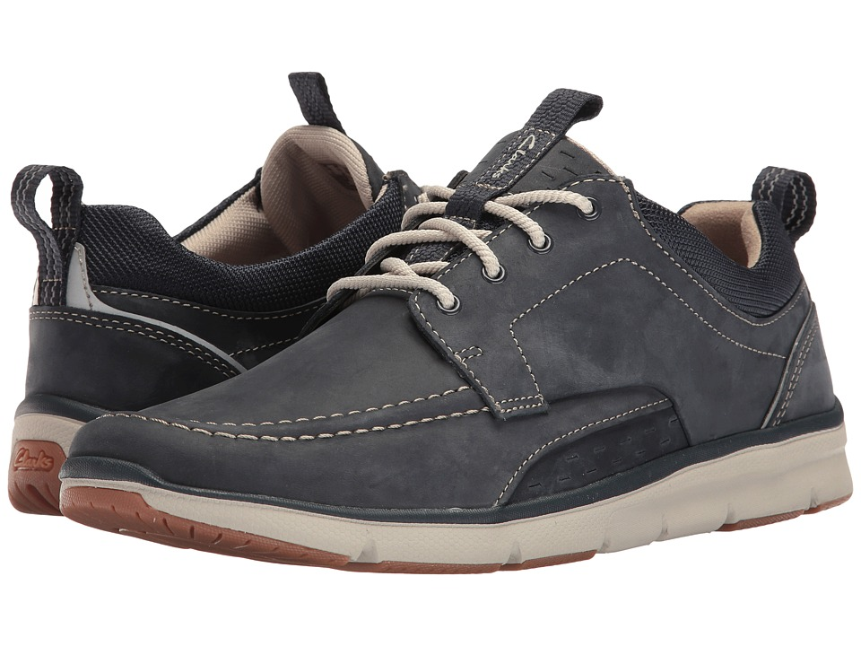 Clarks Orson Bay (Navy Nubuck) Men