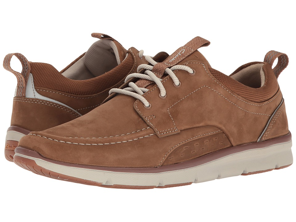 Clarks - Orson Bay (Tan Nubuck) Men's Shoes