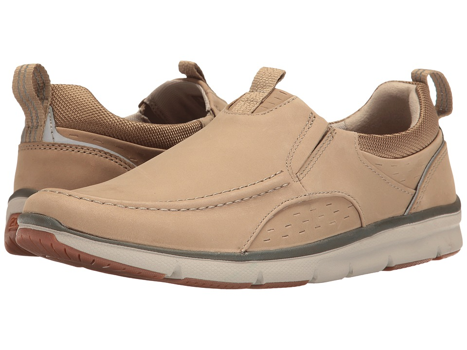 Clarks Orson Row (Sand Nubuck) Men
