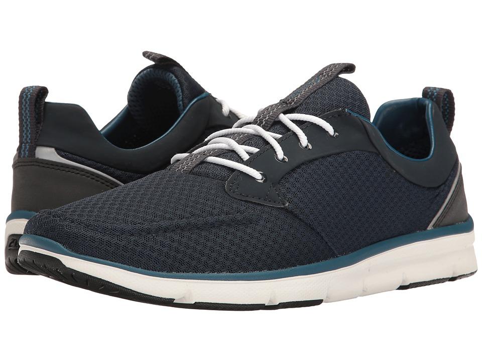 Clarks - Orson Fast (Navy Mesh Combi) Men's Shoes