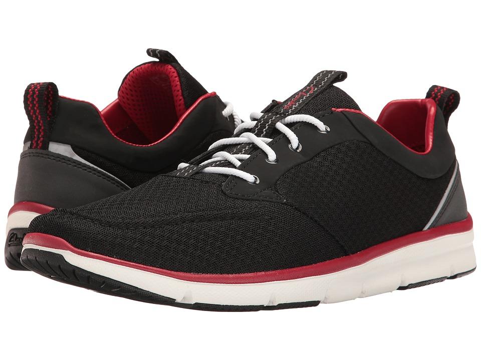 Clarks - Orson Fast (Black Mesh Combi) Men's Shoes