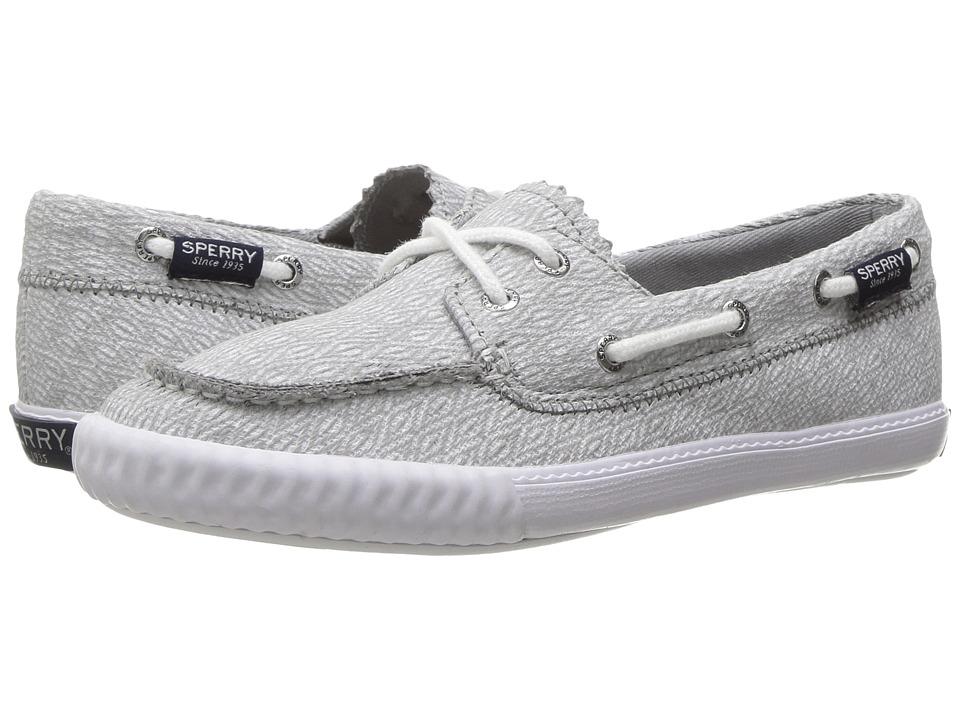 Sperry Kids - Sayel (Little Kid/Big Kid) (Grey Diamond) Girls Shoes