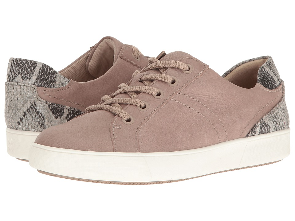 Naturalizer - Morrison (Grey Leather/Snake) Women's Lace up casual Shoes