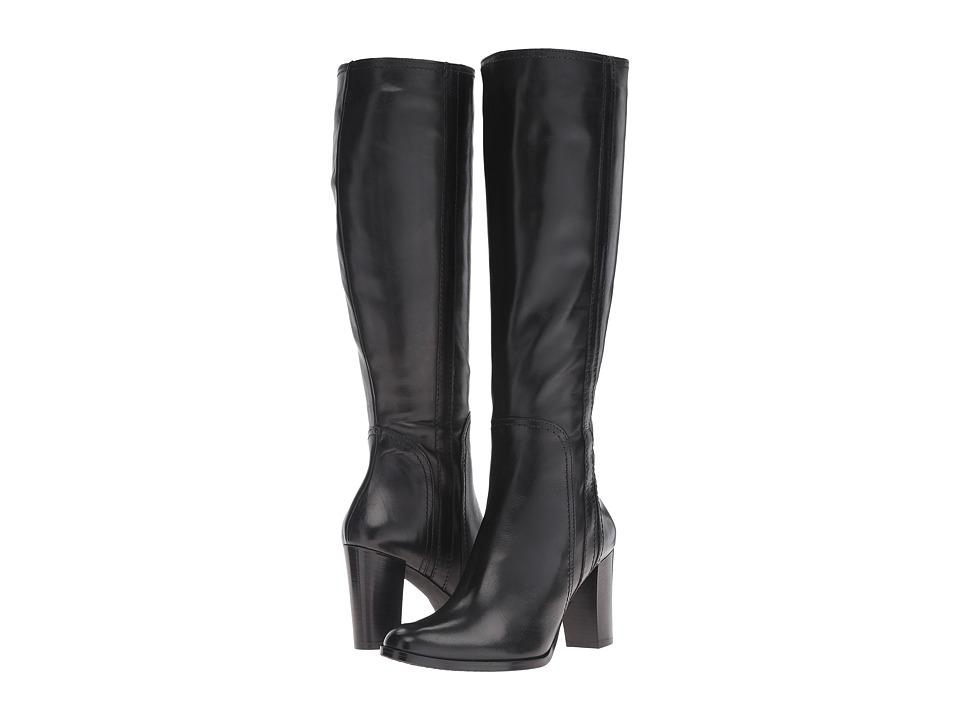 Massimo Matteo Side Zip Heel Boot 16 (Black) Women