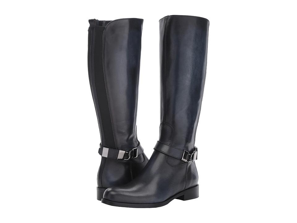 Massimo Matteo Flat Calf Locket Boot (Oceano) Women