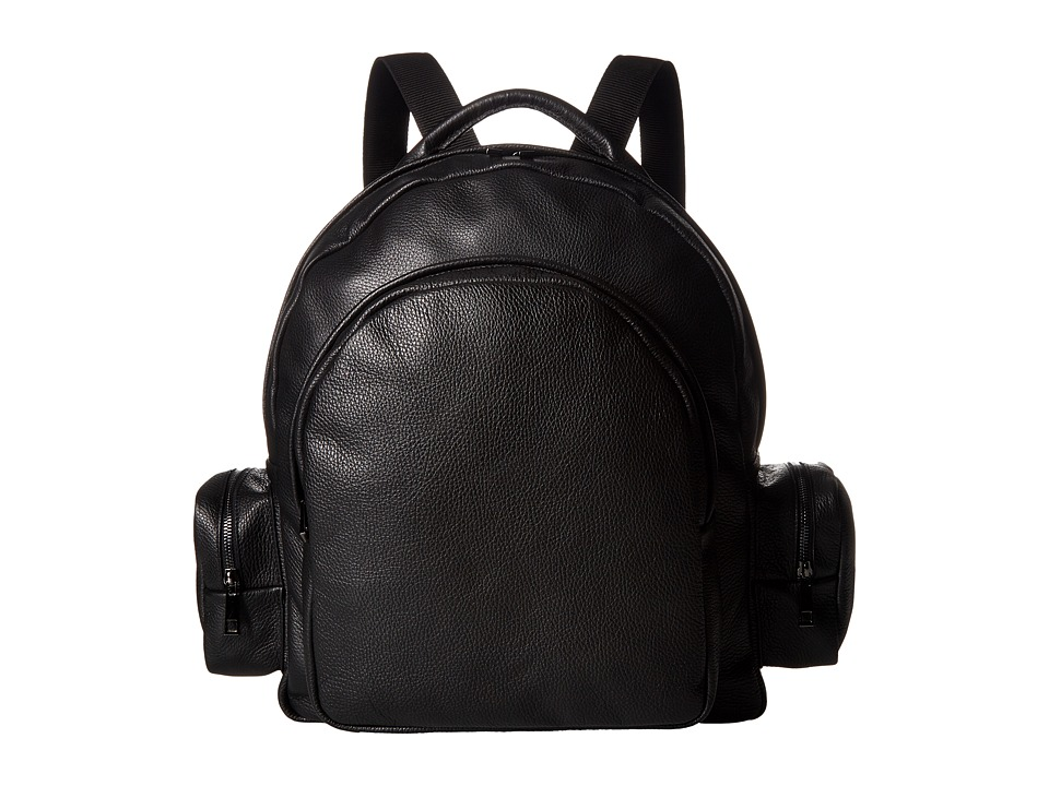 Gold & Gravy - Leather Backpack (Black) Backpack Bags