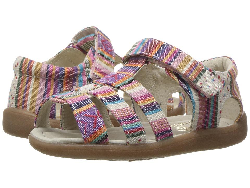 See Kai Run Kids Fe (Toddler) (Multi Stripe) Girls Shoes