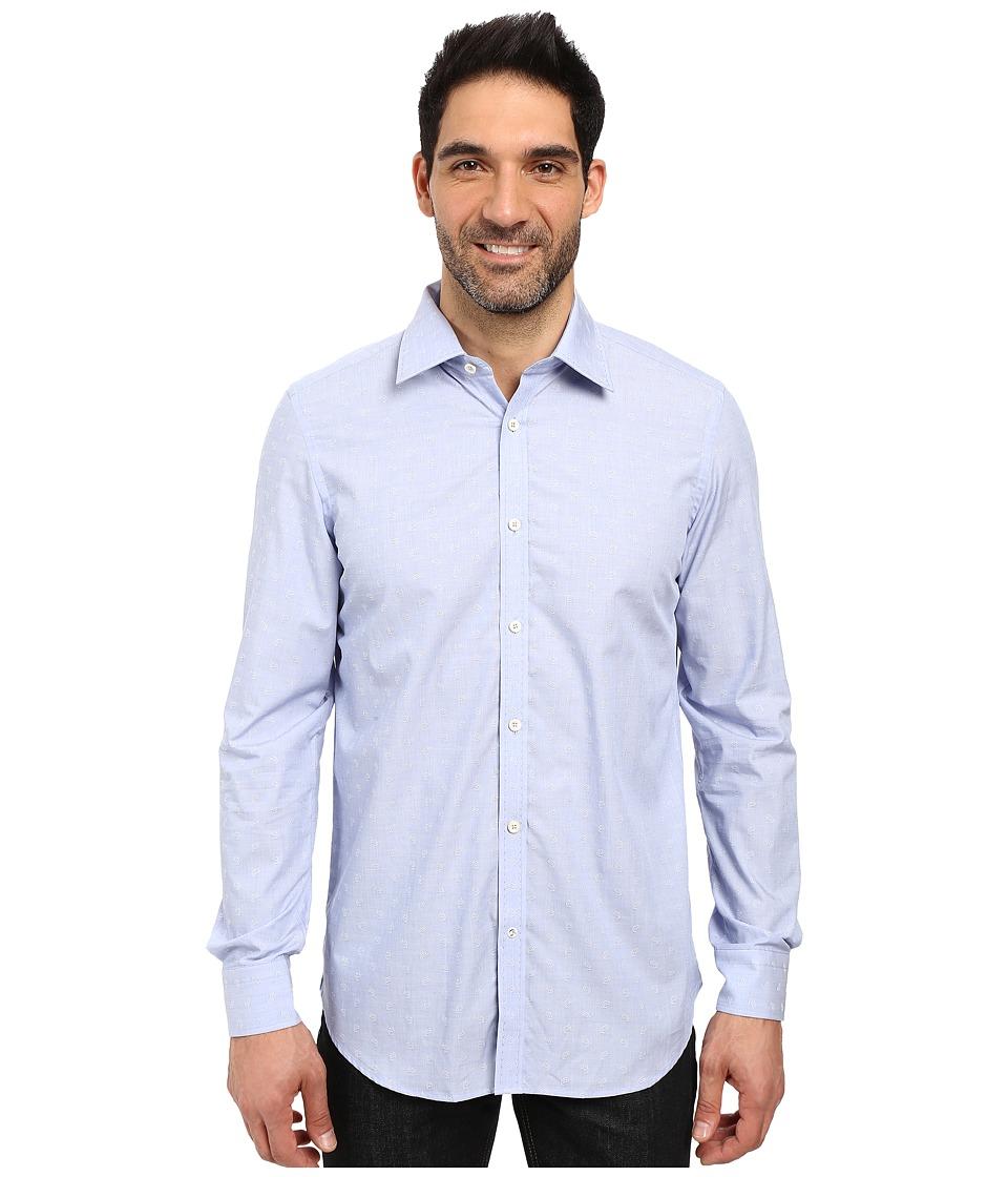 Robert Graham - Banjo Dress Shirt (Blue) Men's Long Sleeve Button Up