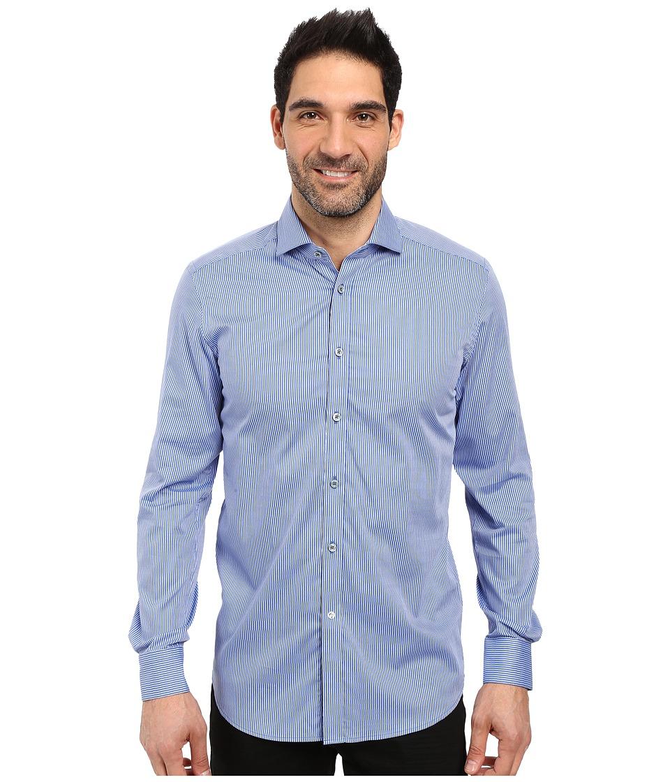 Robert Graham - Grosseto Dress Shirt (Blue) Men's Long Sleeve Button Up
