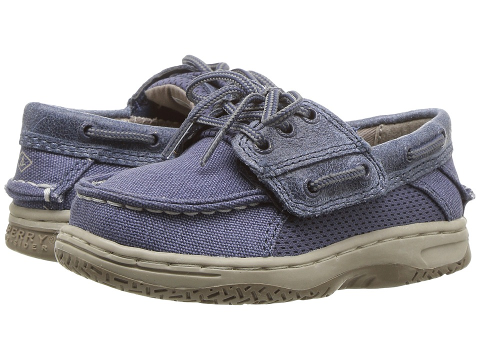 Sperry Kids - Billfish A/C (Toddler/Little Kid) (Slate Blue) Boys Shoes