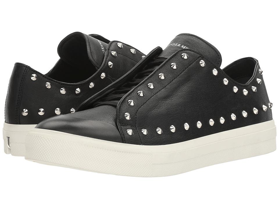 Alexander McQueen - Punk Studded Sneaker (Black) Men's Shoes
